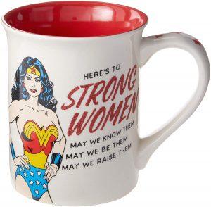 DC Comics Wonder Woman Strong Woman Mug