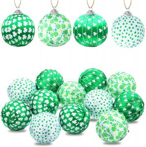 12 Pieces St. Patrick's Day Hanging Ball