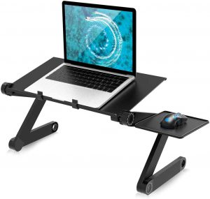 Adjustable Laptop Stand for Bed Portable Lap Desk