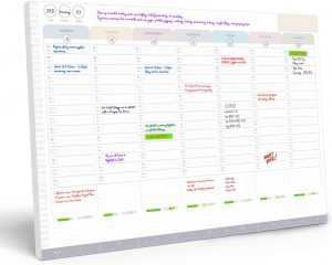 Weekly Planner Pad – to Do List