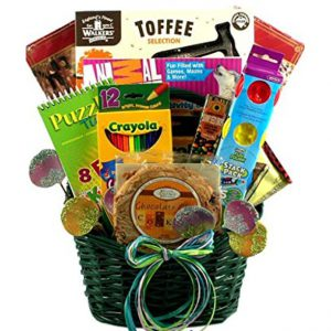 Boys and Girls Activity Gift Basket for Easter