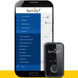 Family1st Mini GPS Tracker Device for