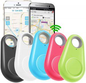 GBD 5 Pack GPS Tracker Smart Key Finder Locator for Kids
