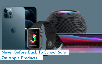 Never Before Back To School Sale On Apple Products